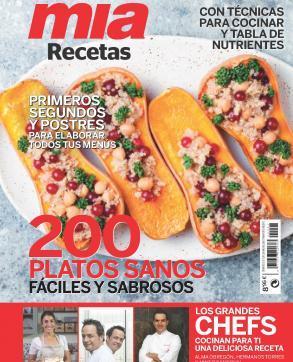 Mia Recetas, el libro de cocina de Mia