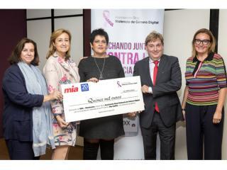 """""""Stop Violencia de Género Digital"""" recibe los 15.000 € recaudados en la IV Edición de la Carrera """"Hay Salida"""""""