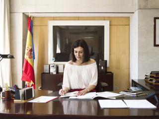 Entrevista a Carmen Montón, nueva Ministra de Sanidad, en exclusiva para Marie Claire