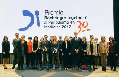 Muy Interesante Premio Boehringer Ingelheim al Periodismo en Medicina