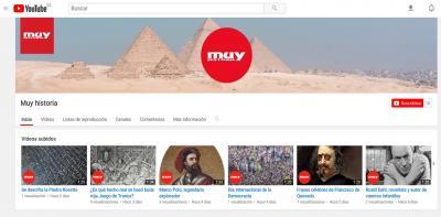 YouTube Muy Historia