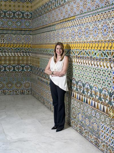 Susana Díaz para Marie Claire